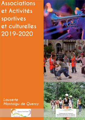 Associations et activités sportives et culturelles 2019-20 en PSQ